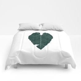 cold leaf Comforters