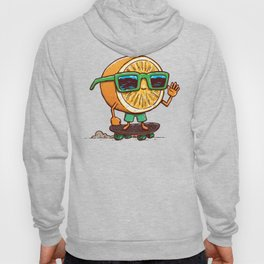 The Orange Skater Hoody