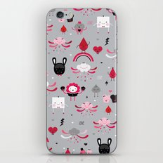 Bloody Family pattern iPhone & iPod Skin