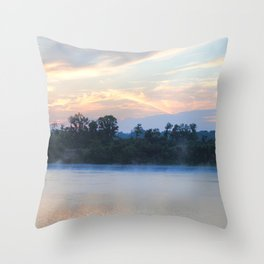 Sunrise at Shiloh II Throw Pillow