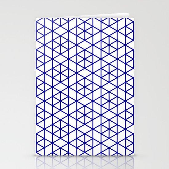 Karthuizer Blue & White Pattern Stationery Cards