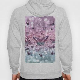 Pastel Unicorn Butterfly Glitter Dream #2 #shiny #decor #art #society6 Hoody