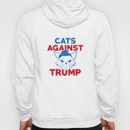 Cats Against Trump Hoody