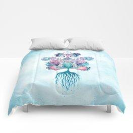 ANELIA BLUE Comforters