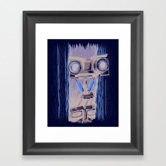 Here's Johnny 5! Framed Art Print