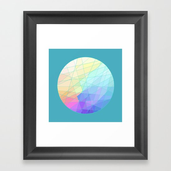 Spectrum Framed Art Print