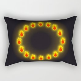Burnin' Ring-O-Fire Rectangular Pillow