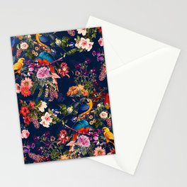 FLORAL AND BIRDS XII Stationery Cards