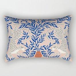 Leopard Vase Rectangular Pillow