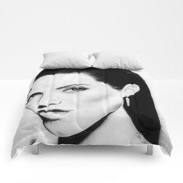 Angelina Jolie Portrait Comforters