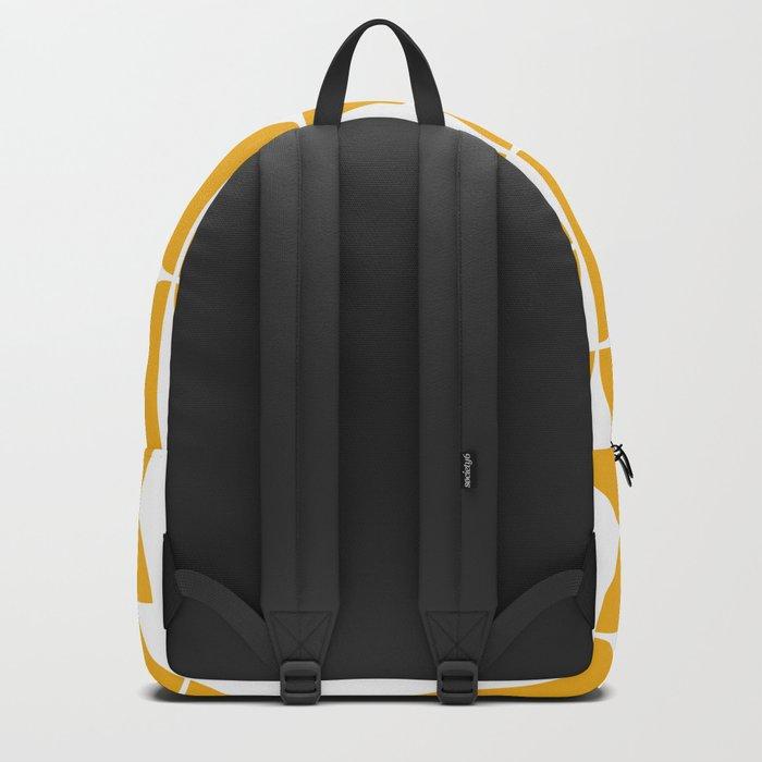 Mid Century Modern Geometric 04 Yellow Backpack