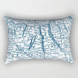 Vintage Finger Lakes Rectangular Pillow