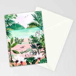 Seaside Meadow Stationery Cards