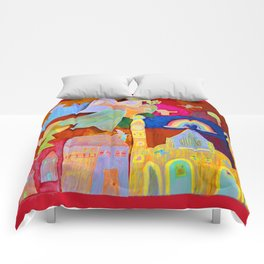 Rainbow Angel Comforters