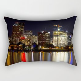 Portland Skyline 85 Rectangular Pillow