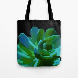 Echeveria Elegans Tote Bag