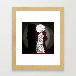 Mattie the Mummy Framed Art Print