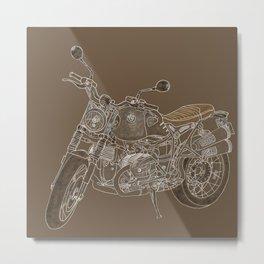 Afternoon Ride Metal Print