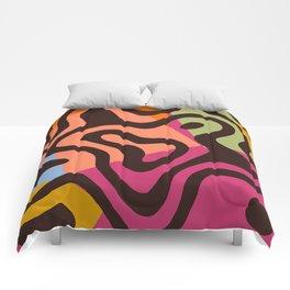 Drunken tiger Comforters