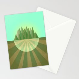 Reach your goals Stationery Cards