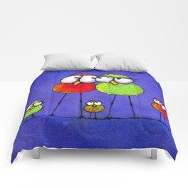 Love Birds Comforters
