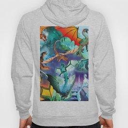Wings of fire all dragon bg Hoody
