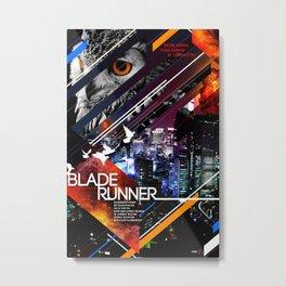 Visions of the Future :: Blade Runner Metal Print