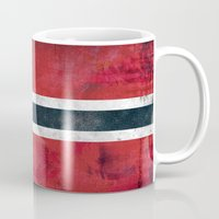 norway Mugs featuring Norway by Arken25
