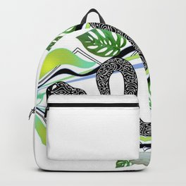 Monstera Quartz Snake Magic Backpack