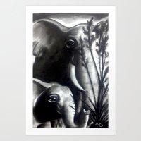 Loved Ones Art Print