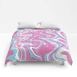 Marbled Pattern [Faux] Comforters