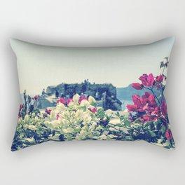 Santorini, Greece 3 Rectangular Pillow