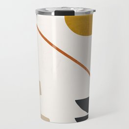 abstract minimal 6 Travel Mug
