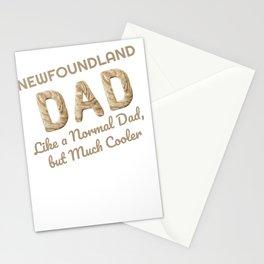 Newfoundland Dad Newfie Lover Dog Lover Stationery Cards