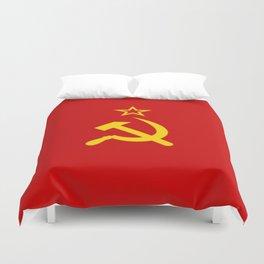 Flag of USSR Duvet Cover