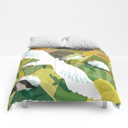 Nils With Wild Geese Comforters