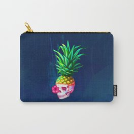Pineapple Skull Carry-All Pouch