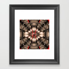 Internal Kaleidoscopic Daze- 13 Framed Art Print