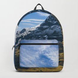 Beautiful Eiger North Wall Grindelwald Backpack