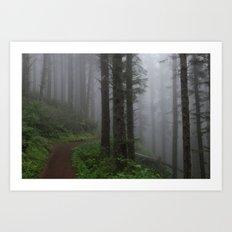 Forest of Fog Art Print