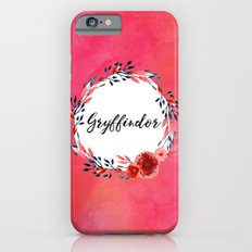 HP Gryffindor in Watercolor iPhone 6s Slim Case