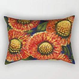 Feu D'Artifice Rectangular Pillow