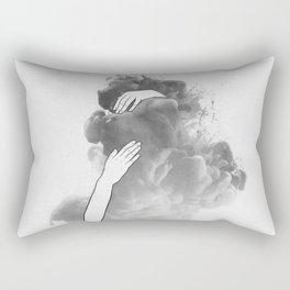The imaginary parts of my mind. Rectangular Pillow