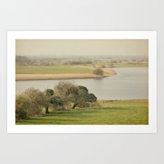 The River Shannon  Art Print