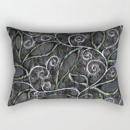 Glitter Vine Rectangular Pillow