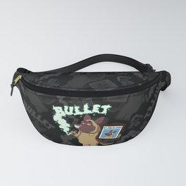 Cartoon Bullet - #1 Drug Dog (Sniffer Dog) Fanny Pack