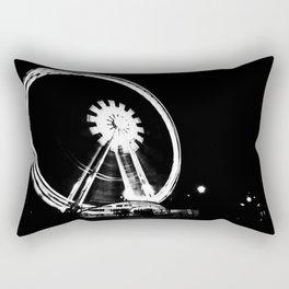 Spinning the Wheel. Rectangular Pillow