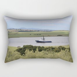 Tug -Tamar River -Tasmania* Rectangular Pillow