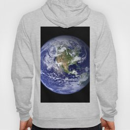 Planet Earth - The Blue Marble From Space Hoody