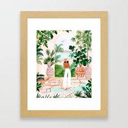 Peaceful Morocco II Framed Art Print